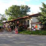 Caravan Camping Horní Planá - zázemí kempu